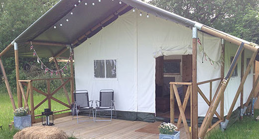 Glamping and Fishing holiday
